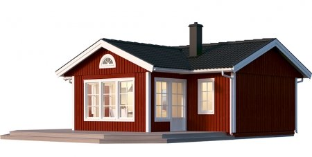 Nyckelfärdiga hus 60 kvm