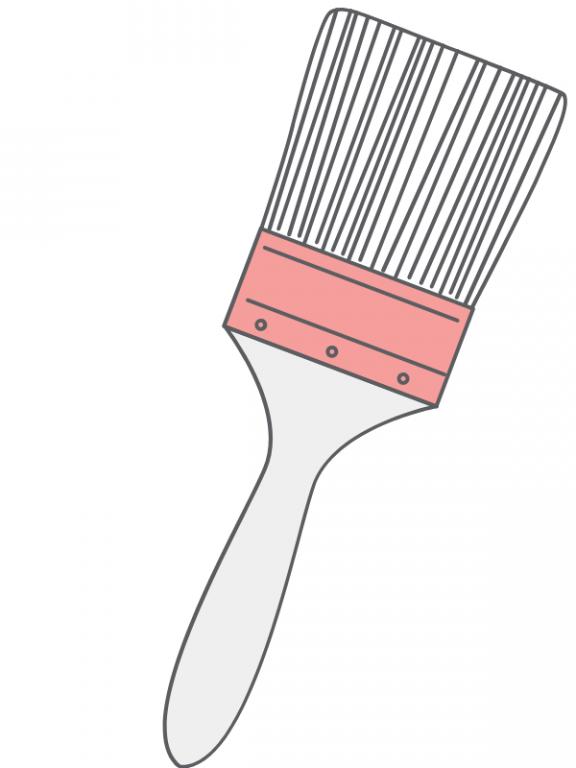 Väggfärg inomhus