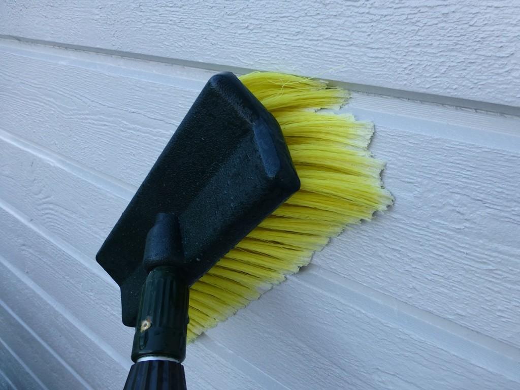 Borste fasadtvätt