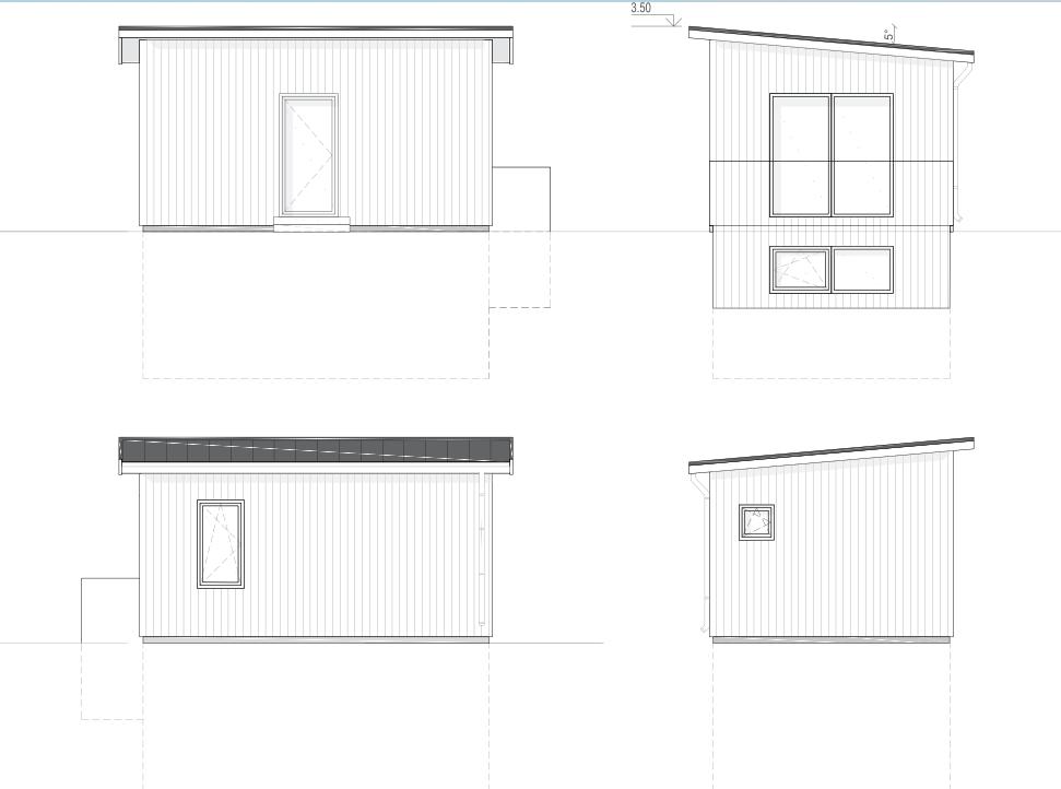 Ritning till attefallshus med källare