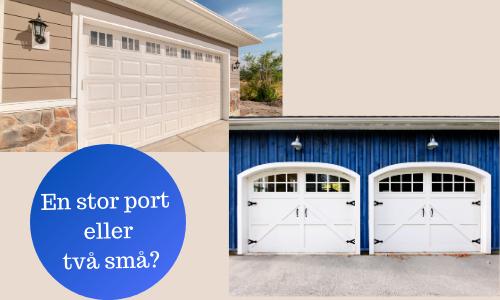 Jämför garageport