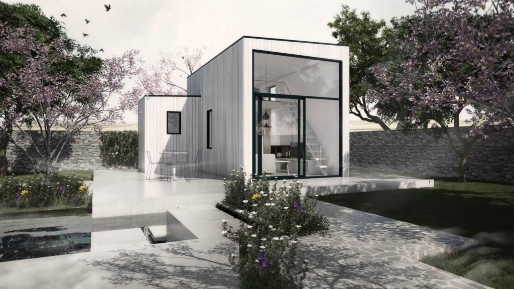 Attefallshus med loft Zen